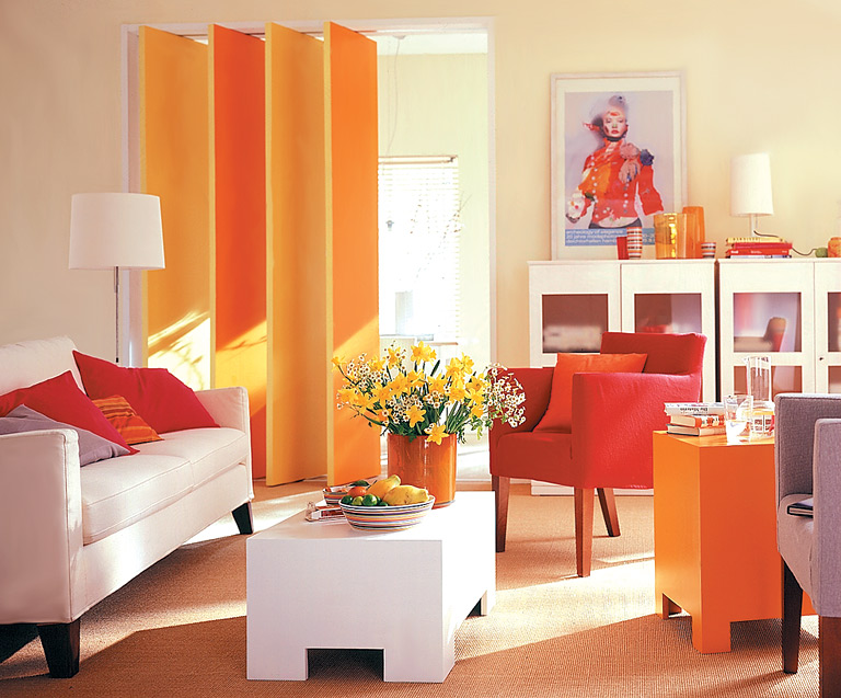 Влияние оранжевого цвета на человека