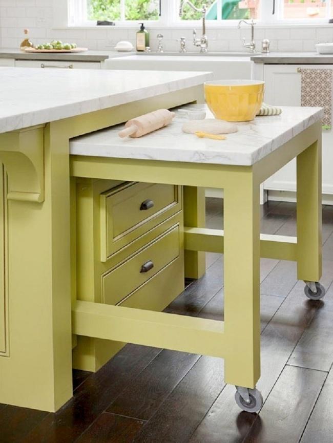 идеи для экономии пространства на кухне