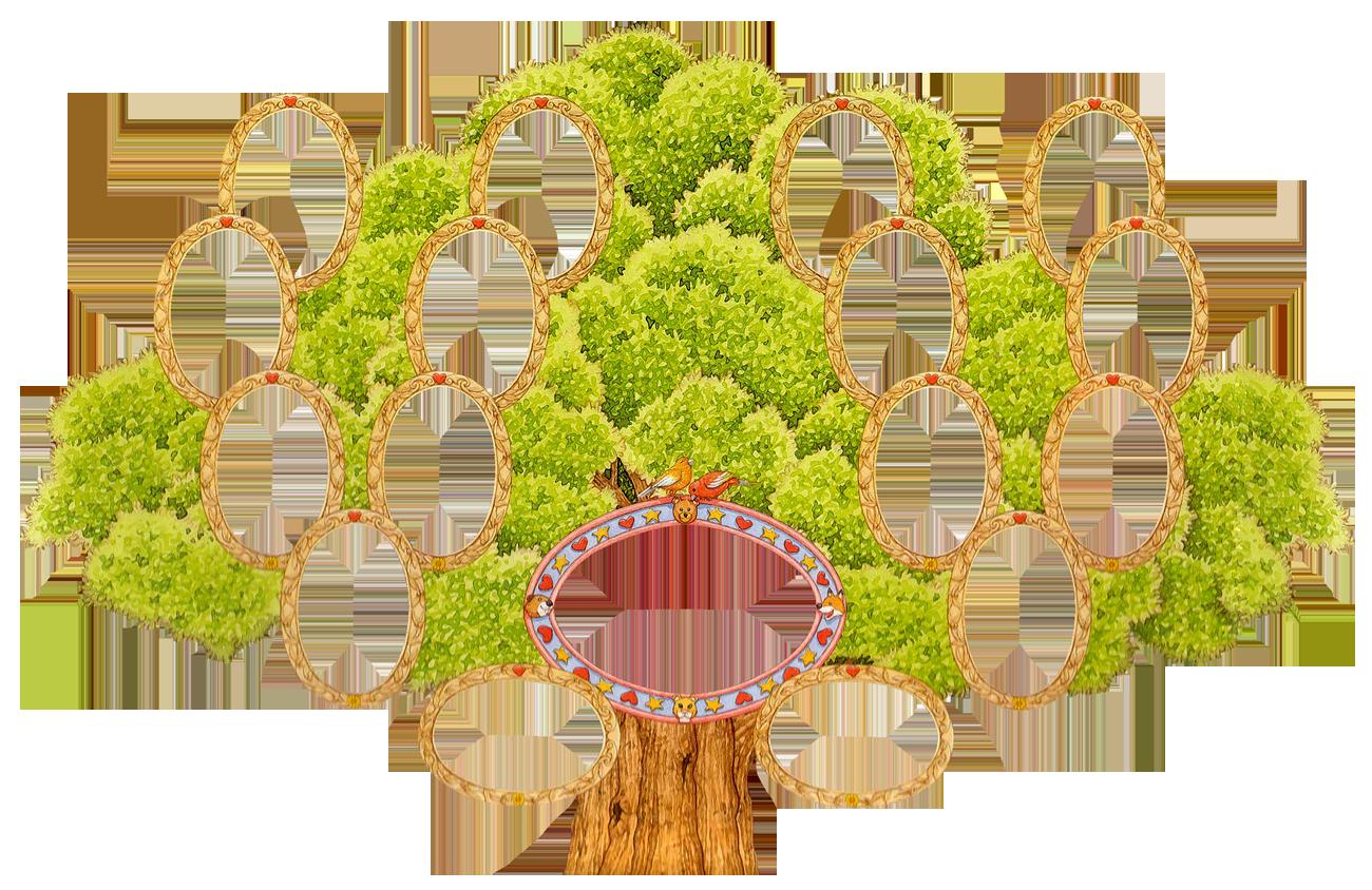 Генеологичне дерево шаблон фото
