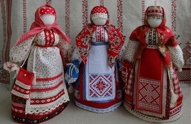Славянский стиль - игрушки